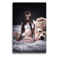 Premium Textil-Leinwand 50 x 75 cm Hoch-Format Alasca | Wandbild, HD-Bild auf Keilrahmen, Fertigbild auf hochwertigem Vlies, Leinwanddruck von Kai Zeminske