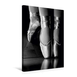 Premium Textil-Leinwand 50 x 75 cm Hoch-Format Ballett Schwarzweiss-Bilder | Wandbild, HD-Bild auf Keilrahmen, Fertigbild auf hochwertigem Vlies, Leinwanddruck von Anette/Thomas Jäger von Jäger,  Anette/Thomas