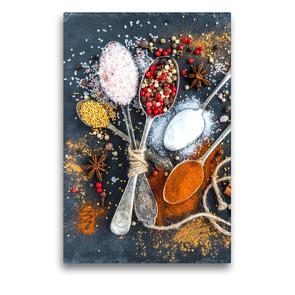 Premium Textil-Leinwand 50 x 75 cm Hoch-Format Gewürze | Wandbild, HD-Bild auf Keilrahmen, Fertigbild auf hochwertigem Vlies, Leinwanddruck von Rose Hurley