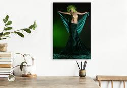 Premium Textil-Leinwand 50 x 75 cm Hoch-Format Grün ist sexy | Wandbild, HD-Bild auf Keilrahmen, Fertigbild auf hochwertigem Vlies, Leinwanddruck von Stefan weis