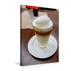 Premium Textil-Leinwand 50 x 75 cm Hoch-Format Kaffeezeit | Wandbild, HD-Bild auf Keilrahmen, Fertigbild auf hochwertigem Vlies, Leinwanddruck von Anette/Thomas Jäger