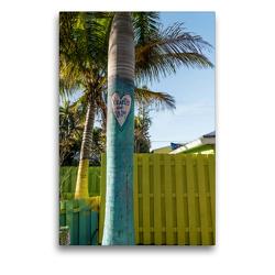 Premium Textil-Leinwand 50 x 75 cm Hoch-Format Matlacha – farbenfrohe Insel in Südwest-Florida | Wandbild, HD-Bild auf Keilrahmen, Fertigbild auf hochwertigem Vlies, Leinwanddruck von Mario Hagen