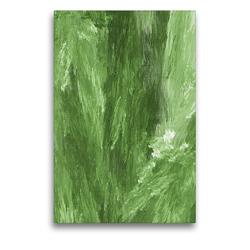 Premium Textil-Leinwand 50 x 75 cm Hoch-Format Natur Impression abstrakt | Wandbild, HD-Bild auf Keilrahmen, Fertigbild auf hochwertigem Vlies, Leinwanddruck von Claudia Burlager