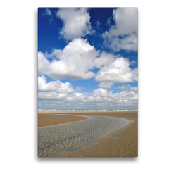 Premium Textil-Leinwand 50 x 75 cm Hoch-Format Priellandschaft   Wandbild, HD-Bild auf Keilrahmen, Fertigbild auf hochwertigem Vlies, Leinwanddruck von Susanne Herppich