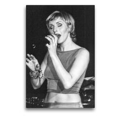 Premium Textil-Leinwand 50 x 75 cm Hoch-Format Silje Nergaard | Wandbild, HD-Bild auf Keilrahmen, Fertigbild auf hochwertigem Vlies, Leinwanddruck von Klaus Rohwer