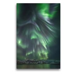 Premium Textil-Leinwand 50 x 75 cm Hoch-Format Storneset, Ringvassøya | Wandbild, HD-Bild auf Keilrahmen, Fertigbild auf hochwertigem Vlies, Leinwanddruck von Sebastian Worm