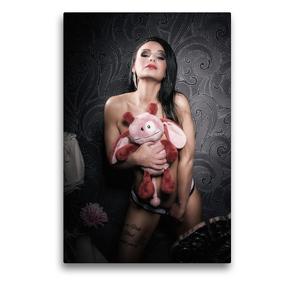 Premium Textil-Leinwand 50 x 75 cm Hoch-Format Sue | Wandbild, HD-Bild auf Keilrahmen, Fertigbild auf hochwertigem Vlies, Leinwanddruck von Kai Zeminske