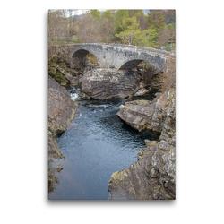 Premium Textil-Leinwand 50 x 75 cm Hoch-Format The Telford bridge | Wandbild, HD-Bild auf Keilrahmen, Fertigbild auf hochwertigem Vlies, Leinwanddruck von pixs:sell@Adobe Stock