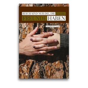 Premium Textil-Leinwand 50 x 75 cm Hoch-Format Wahre Freunde   Wandbild, HD-Bild auf Keilrahmen, Fertigbild auf hochwertigem Vlies, Leinwanddruck von Susan Michel