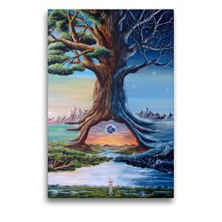 Premium Textil-Leinwand 50 x 75 cm Hoch-Format Zwischen(t)räume | Wandbild, HD-Bild auf Keilrahmen, Fertigbild auf hochwertigem Vlies, Leinwanddruck von Conny Krakowski