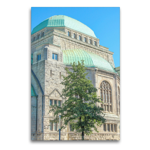 Premium Textil-Leinwand 60 x 90 cm Hoch-Format Alte Synagoge   Wandbild, HD-Bild auf Keilrahmen, Fertigbild auf hochwertigem Vlies, Leinwanddruck von pixs:sell@Adobe Stock