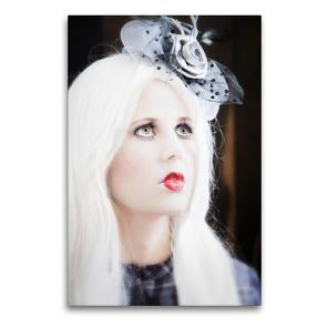 Premium Textil-Leinwand 60 x 90 cm Hoch-Format Die Marionette | Wandbild, HD-Bild auf Keilrahmen, Fertigbild auf hochwertigem Vlies, Leinwanddruck von Ravienne Art