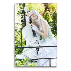 Premium Textil-Leinwand 60 x 90 cm Hoch-Format Grazioso   Wandbild, HD-Bild auf Keilrahmen, Fertigbild auf hochwertigem Vlies, Leinwanddruck von Ravienne Art