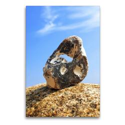Premium Textil-Leinwand 60 x 90 cm Hoch-Format Hühnergott Glücksbringer | Wandbild, HD-Bild auf Keilrahmen, Fertigbild auf hochwertigem Vlies, Leinwanddruck von Michaela Schimmack