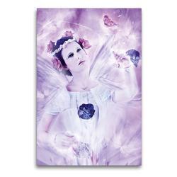 Premium Textil-Leinwand 60 x 90 cm Hoch-Format Kimama | Wandbild, HD-Bild auf Keilrahmen, Fertigbild auf hochwertigem Vlies, Leinwanddruck von Ravienne Art