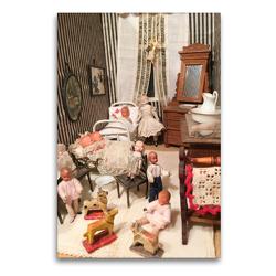 Premium Textil-Leinwand 60 x 90 cm Hoch-Format Kinderspielzimmer | Wandbild, HD-Bild auf Keilrahmen, Fertigbild auf hochwertigem Vlies, Leinwanddruck von WEIBKIWI