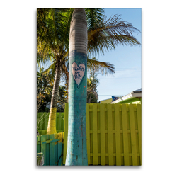 Premium Textil-Leinwand 60 x 90 cm Hoch-Format Matlacha – farbenfrohe Insel in Südwest-Florida | Wandbild, HD-Bild auf Keilrahmen, Fertigbild auf hochwertigem Vlies, Leinwanddruck von Mario Hagen