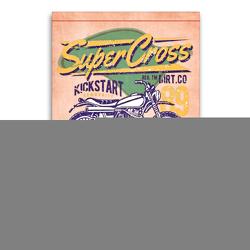 Premium Textil-Leinwand 60 x 90 cm Hoch-Format Motorrad Nostalgie   Wandbild, HD-Bild auf Keilrahmen, Fertigbild auf hochwertigem Vlies, Leinwanddruck von Peter Roder