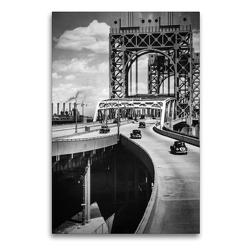 Premium Textil-Leinwand 60 x 90 cm Hoch-Format Triborough Bridge, East 125th Street approach, Manhattan, 1936 | Wandbild, HD-Bild auf Keilrahmen, Fertigbild auf hochwertigem Vlies, Leinwanddruck von Christian Müringer