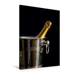 Premium Textil-Leinwand 60 x 90 cm Hoch-Format Wein und Sekt   Wandbild, HD-Bild auf Keilrahmen, Fertigbild auf hochwertigem Vlies, Leinwanddruck von Thomas Jäger von Jaeger,  Thomas