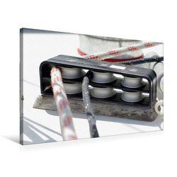 Premium Textil-Leinwand 75 x 50 cm Quer-Format 2-fach Fallen- Umlenkblock | Wandbild, HD-Bild auf Keilrahmen, Fertigbild auf hochwertigem Vlies, Leinwanddruck von Tanja Riedel von Riedel,  Tanja