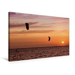 Premium Textil-Leinwand 75 x 50 cm Quer-Format Am Nordstrand | Wandbild, HD-Bild auf Keilrahmen, Fertigbild auf hochwertigem Vlies, Leinwanddruck von Roland Störmer