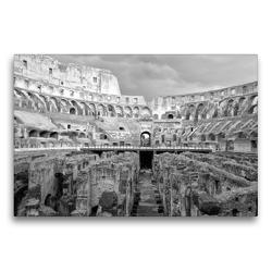 Premium Textil-Leinwand 75 x 50 cm Quer-Format Auf den Wegen der Gladiatoren | Wandbild, HD-Bild auf Keilrahmen, Fertigbild auf hochwertigem Vlies, Leinwanddruck von kattobello