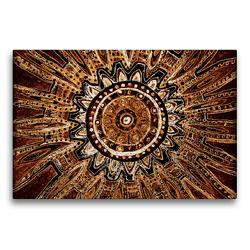 Premium Textil-Leinwand 75 x 50 cm Quer-Format Ausbruch | Wandbild, HD-Bild auf Keilrahmen, Fertigbild auf hochwertigem Vlies, Leinwanddruck von EigenArt