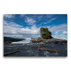 Premium Textil-Leinwand 75 x 50 cm Quer-Format Botany Bay | Wandbild, HD-Bild auf Keilrahmen, Fertigbild auf hochwertigem Vlies, Leinwanddruck von Rolf Dietz