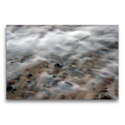 Premium Textil-Leinwand 75 x 50 cm Quer-Format Brandung | Wandbild, HD-Bild auf Keilrahmen, Fertigbild auf hochwertigem Vlies, Leinwanddruck von Katja Jentschura
