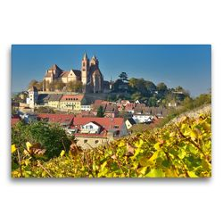Premium Textil-Leinwand 75 x 50 cm Quer-Format Breisach am Rhein   Wandbild, HD-Bild auf Keilrahmen, Fertigbild auf hochwertigem Vlies, Leinwanddruck von Dieter-M. Wilczek