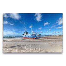 Premium Textil-Leinwand 75 x 50 cm Quer-Format Dänemarks Norden II   Wandbild, HD-Bild auf Keilrahmen, Fertigbild auf hochwertigem Vlies, Leinwanddruck von Oliver Schwenn