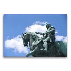 Premium Textil-Leinwand 75 x 50 cm Quer-Format Denkmal Maximilian Kurfürst von Bayern | Wandbild, HD-Bild auf Keilrahmen, Fertigbild auf hochwertigem Vlies, Leinwanddruck von Pia Thauwald