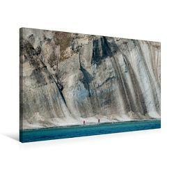 Premium Textil-Leinwand 75 x 50 cm Quer-Format Der mächtige Kreidefelsen von Rügen. | Wandbild, HD-Bild auf Keilrahmen, Fertigbild auf hochwertigem Vlies, Leinwanddruck von Ingo Gerlach GDT von Gerlach GDT,  Ingo