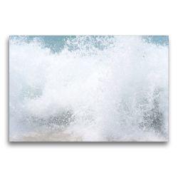 Premium Textil-Leinwand 75 x 50 cm Quer-Format Der Zauber der Wellen   Wandbild, HD-Bild auf Keilrahmen, Fertigbild auf hochwertigem Vlies, Leinwanddruck von Youlia
