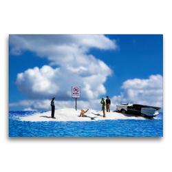 Premium Textil-Leinwand 75 x 50 cm Quer-Format Deutschland: Binz auf Rügen | Wandbild, HD-Bild auf Keilrahmen, Fertigbild auf hochwertigem Vlies, Leinwanddruck von Andreas Konieczka