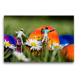 Premium Textil-Leinwand 75 x 50 cm Quer-Format Deutschland. Bochum Langendreer | Wandbild, HD-Bild auf Keilrahmen, Fertigbild auf hochwertigem Vlies, Leinwanddruck von Andreas Konieczka