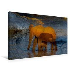 Premium Textil-Leinwand 75 x 50 cm Quer-Format Emotionale Momente: African Dreams | Wandbild, HD-Bild auf Keilrahmen, Fertigbild auf hochwertigem Vlies, Leinwanddruck von Ingo Gerlach GDT von Gerlach GDT,  Ingo