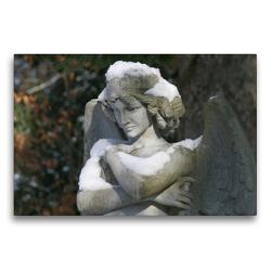 Premium Textil-Leinwand 75 x 50 cm Quer-Format Engel der Sicherheit | Wandbild, HD-Bild auf Keilrahmen, Fertigbild auf hochwertigem Vlies, Leinwanddruck von Monika Kober