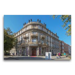 Premium Textil-Leinwand 75 x 50 cm Quer-Format Ephraim Palais   Wandbild, HD-Bild auf Keilrahmen, Fertigbild auf hochwertigem Vlies, Leinwanddruck von ReDi Fotografie