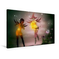 Premium Textil-Leinwand 75 x 50 cm Quer-Format Erwachen | Wandbild, HD-Bild auf Keilrahmen, Fertigbild auf hochwertigem Vlies, Leinwanddruck von Andrea Tiettje