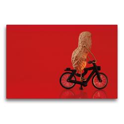 Premium Textil-Leinwand 75 x 50 cm Quer-Format Essen auf Rädern | Wandbild, HD-Bild auf Keilrahmen, Fertigbild auf hochwertigem Vlies, Leinwanddruck von Michaela Kanthak