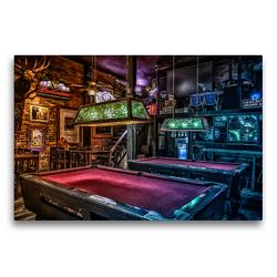 Premium Textil-Leinwand 75 x 50 cm Quer-Format Freizeit Billard   Wandbild, HD-Bild auf Keilrahmen, Fertigbild auf hochwertigem Vlies, Leinwanddruck von W.W. Voßen – Herzog von Laar am Rhein