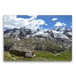 Premium Textil-Leinwand 75 x 50 cm Quer-Format Gasolari dell Herbetet | Wandbild, HD-Bild auf Keilrahmen, Fertigbild auf hochwertigem Vlies, Leinwanddruck von Johann Schörkhuber