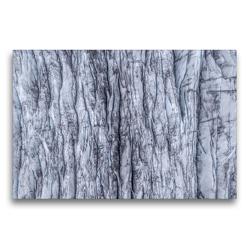 Premium Textil-Leinwand 75 x 50 cm Quer-Format Gletschereis | Wandbild, HD-Bild auf Keilrahmen, Fertigbild auf hochwertigem Vlies, Leinwanddruck von Christian Scheunert