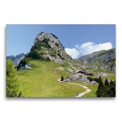 Premium Textil-Leinwand 75 x 50 cm Quer-Format Gschöllkopf im Rofangebirge. Tirol/ Österreich | Wandbild, HD-Bild auf Keilrahmen, Fertigbild auf hochwertigem Vlies, Leinwanddruck von Anja Frost