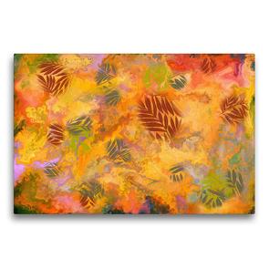 Premium Textil-Leinwand 75 x 50 cm Quer-Format Herbstgefühle   Wandbild, HD-Bild auf Keilrahmen, Fertigbild auf hochwertigem Vlies, Leinwanddruck von Danijela Hospes