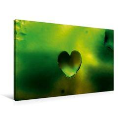 Premium Textil-Leinwand 75 x 50 cm Quer-Format Herztröpfli   Wandbild, HD-Bild auf Keilrahmen, Fertigbild auf hochwertigem Vlies, Leinwanddruck von NUPHO – Nihat Uysal Photography von - Nihat Uysal Photography,  NUPHO