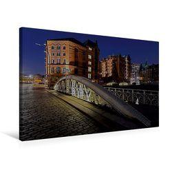 Premium Textil-Leinwand 75 x 50 cm Quer-Format Kannengießerbrücke | Wandbild, HD-Bild auf Keilrahmen, Fertigbild auf hochwertigem Vlies, Leinwanddruck von Diane Jordan