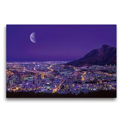 Premium Textil-Leinwand 75 x 50 cm Quer-Format Kapstadt, Südafrika | Wandbild, HD-Bild auf Keilrahmen, Fertigbild auf hochwertigem Vlies, Leinwanddruck von Christian Heeb